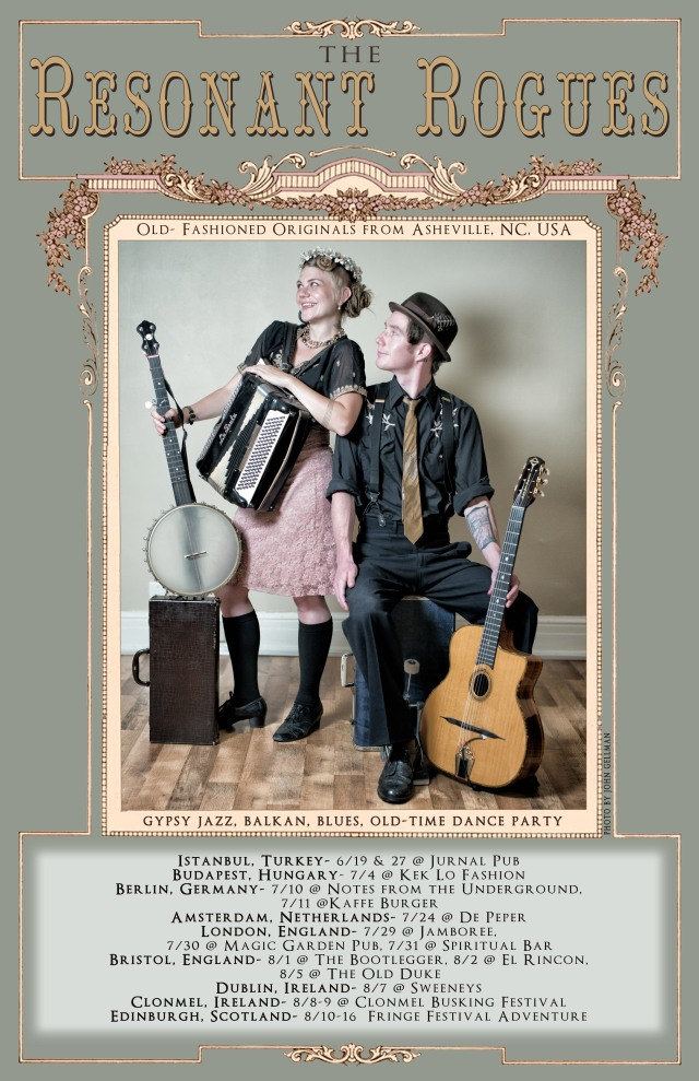 European tour duet poster all dates