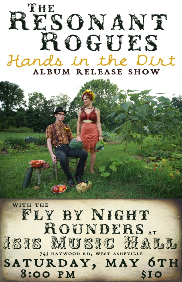 HITD album release poster Asheville Isis Fly by Night Rounders