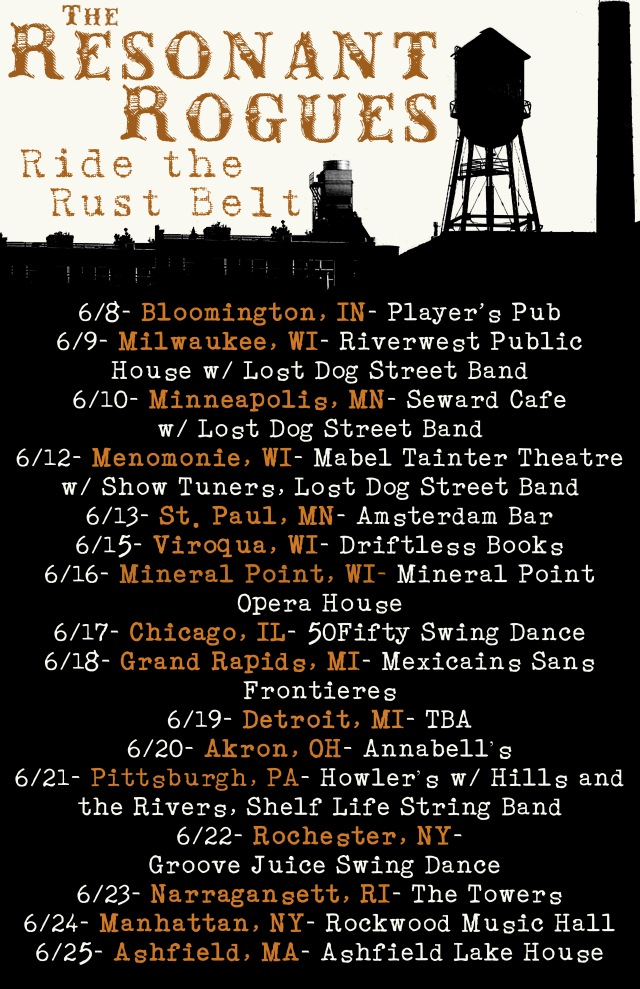 Resonant Rogues Ride the Rust Belt dates
