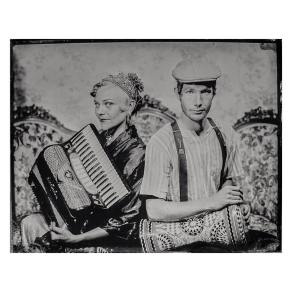 The Resonant Rogues tintype by Jeff Howlett