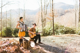 The Resonant Rogues WNC mountains by Carolyn Marie Stotts