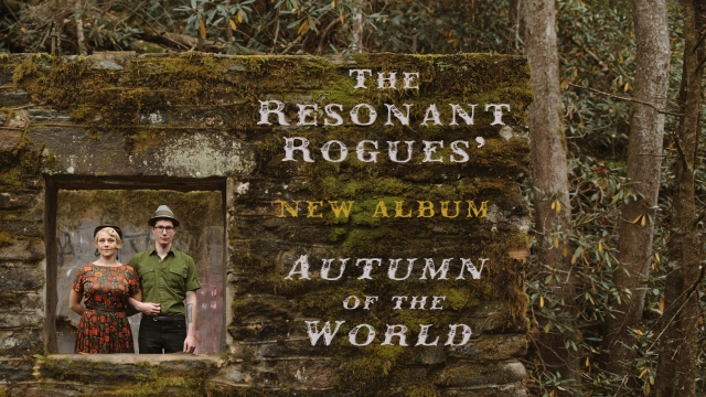 Album release graphic Autumn of the world (video size 16-9)