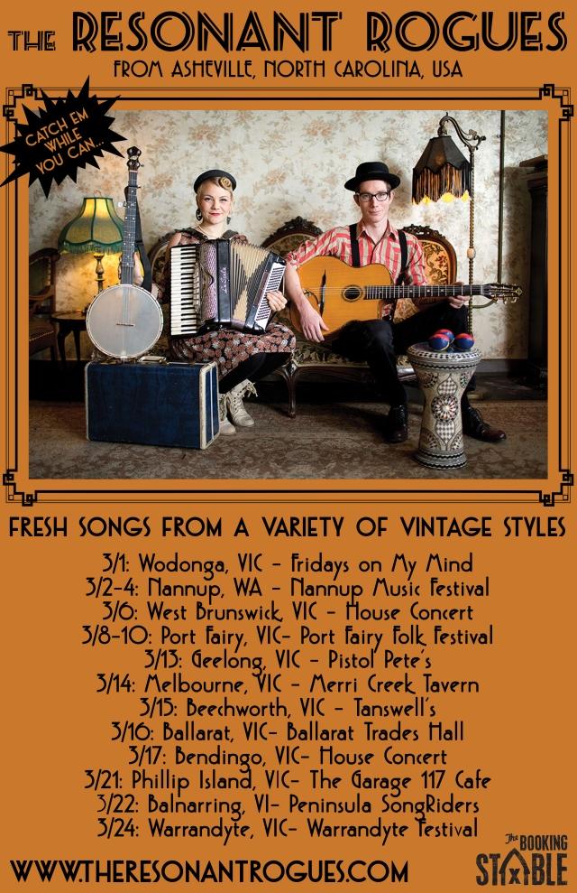 Australia tour Resonant Rogues full dates (new version)